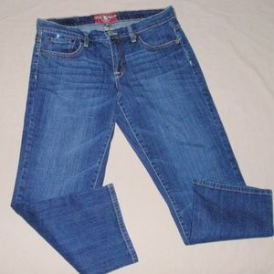 Lucky Brand Easy Rider Crop Jeans 8 29